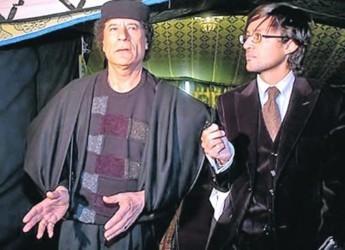 У Каддафи. Омар вхож в семью Муаммара. К примеру, он помогал его сыну наладить дела в Украине. Фото из личного архива Арфуша