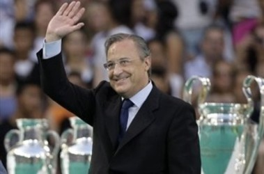 "Президент ""Реала"" Флорентино Перес. Фото АР"