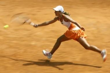 Юлиана Федак не смогла пробиться в основу турнира в Ташкенте. Фото AFP