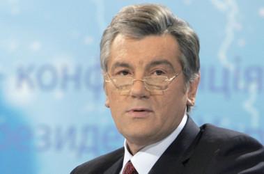 Ющенко жалуется, что у Киселева его никто не спросил про Голодомор, фото пресс-службы президента