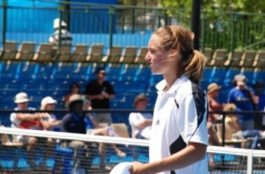 "Вторая ""ракетка"" Украины Александр Долгополов. Фото sapronov-tennis.org"