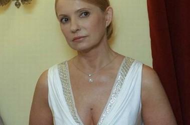 Тимошенко в суд пришла в откровенном платье