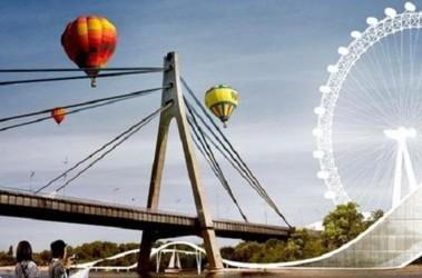 Проект «Архипелаг» предполагает построить на каком-то острове колесо обозрения. Фото: КГГА