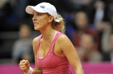 Экс-россиянка Анастасия Родионова принесла Австралии первое очко. Фото AFP