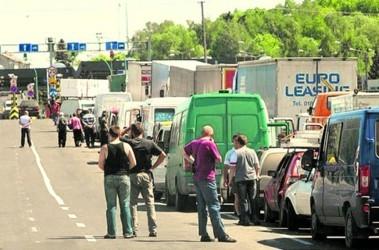 """""""Колейка"""" в Медыке стоит уже неделю из-за забастовки. Фото: Agencja Gazeta"""