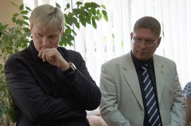 Рейко Опитц и Александр Демьяненко (слева направо). Фото: pn.mk.ua