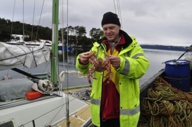 На обед варили морских крабов. Фото: из архива А.Зубкова