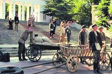 Графская пристань. В центре Севастополя на несколько дней воссоздали атмосферу конца ХIХ века. Фото: М.Львовски