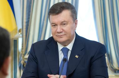 Янукович соболезнует в связи со смертью Маргарет Тэтчер. Фото пресс-службы президента Украины