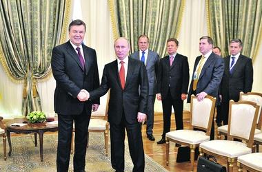Путин. Очень рад, что Янукович нашел время для визита в выходной. Фото: ИТАР-ТАСС