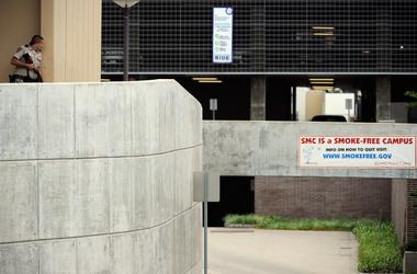 Неизвестный открыл стрельбу в американском колледже, есть раненые, фото AFP