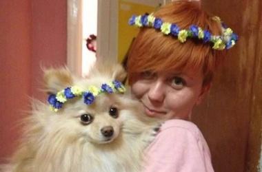 Лидера FEMEN избили и похитили собаку. Фото: http://femen.org