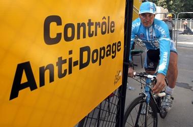 Цабель на допинг-контроле. Фото AFP