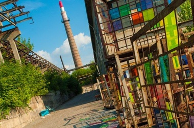 Изоляция. Цеха бывшего завода стали платформой для искусства. Фото: art-donetsk.com