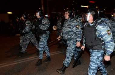 Волнения в Бирюлево продолжаются, фото AFP