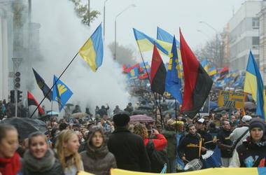 Марш в честь создания УПА в прошлом году закончился стычками