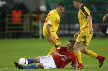Россия - Македония 3:0. Фото АР