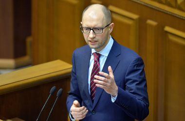 Яценюк намерен принимать непопулярные решения. Фото AFP