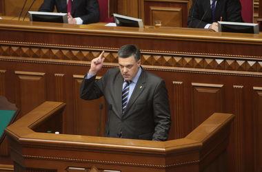 Тягнибок хочет повысить обороноспособность Украины
