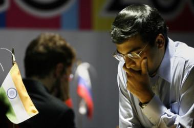 Индийский гроссмейстер Ананд стал новым чемпионов мира. Фото AFP