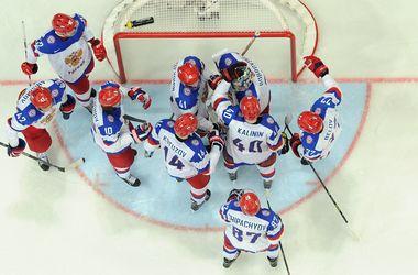 Збірна Росії з хокею - фаворит ЧС-2014. фото AFP