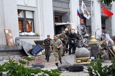 В Луганске прозвучал мощный взрыв. Фото: AFP