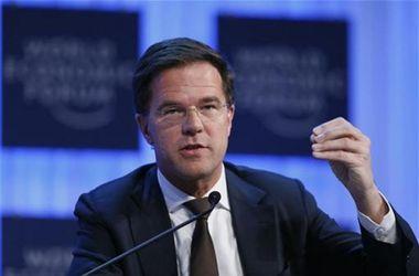 Марк Рютте заявил о необходимости вернуть тела погибших на родину. Фото: AFP