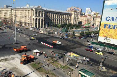 Майдан выглядит непривычно большим. Фото:facebook.com/impulsegroupe