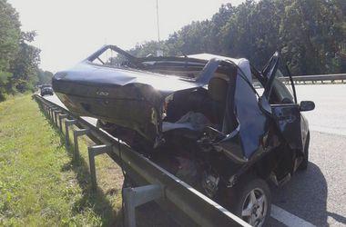 От машины осталась груда железа. Фото: magnolia-tv.com