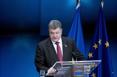 Порошенко провел в Брюсселе 11 встреч. Фото: AFP