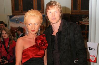 Андрей Гусин с женой Кристиной