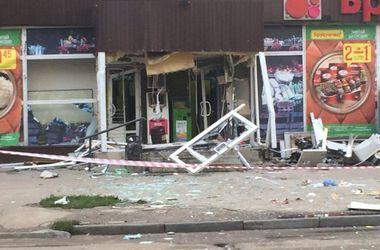 В Харькове взорвали банкомат. Фото: Вконтакте
