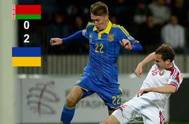 Сидорчук поставил точку в матча - 0:2! Фото AFP