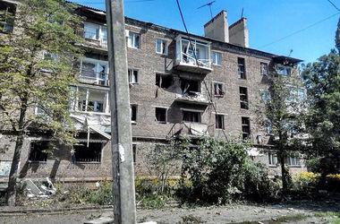 Разрушенный дом в Горловке по ул. Первомайская,31. Фото: соцсети