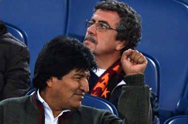Эво Моралес, фото AFP