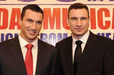 Володимир і Віталій Клички. Фото AF