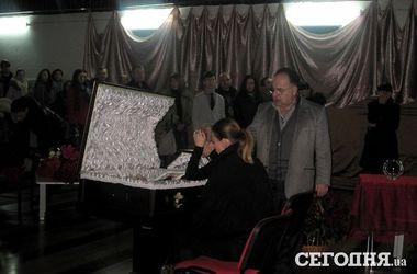 Прощание с Литвиновым. Фото: А. Макаренко