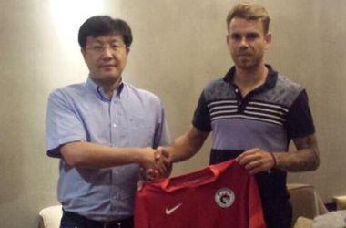 Бикфалви подписал контракт с китайцами. Фото lnhyfc.com