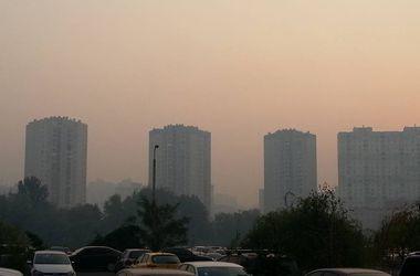 Днем дым в Киеве должен рассеяться. Фото:joinfo.ua