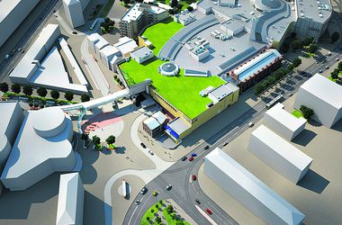 Лук'янівська площа. Транспортну розв'язку реорганізують, а пам'ятники архітектури реставрують. Фото: arricano.com