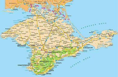 В Крым не пропустят грузы