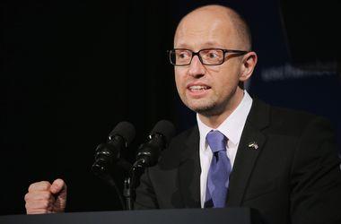 Яценюк отметил экономические улучшения. Фото: AFP