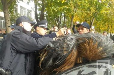 В Одессе задержали Чубакку. Фото: 1tv.od.ua