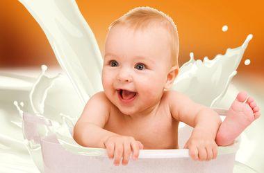 Факт: дети на грудном вскармливании меньше плачут.