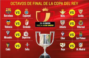 Футбол кубок испании самые важные матчи