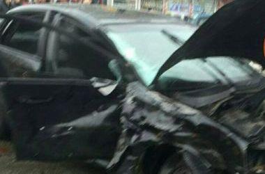 На месте аварии работали медики и полиция. Фото: dtp.kiev.ua