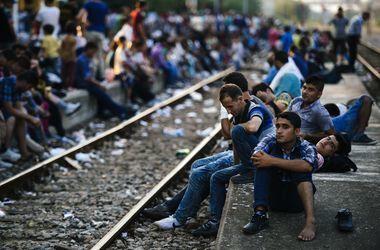 Беженцы рвутся в Европу. Фото: AFP