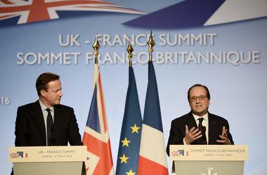 Франсуа Олланд і Девід Кемерон, фото AFP