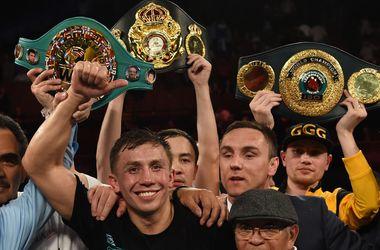 Геннадий Головкин может выйти на ринг в один день с Владимиром Кличко. Фото AFP