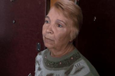 Бабушка пострадавшего мальчика. Фото:kiyany.obozrevatel.com